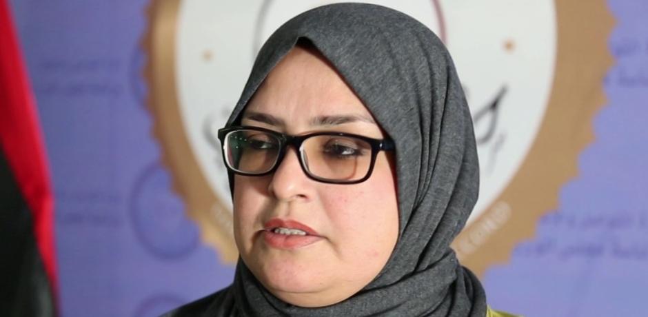 مستشارة الشؤون الخدمية بالمجلس الرئاسي  الليبي : أنا دائمة الاهتمام بالمغرب و أحييه على مناصرته للمرأة و دستوره الرائع