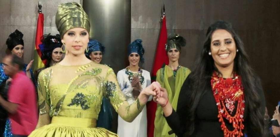 مصممة الأزياء نادية زين : الموضة ليست مرتبطة بالماركات العالمية و هذا سر نجاح تصاميمي