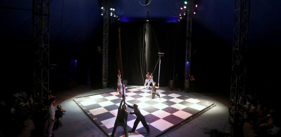les 20 ans de l'Ecole du Cirque Shems'y à Salé