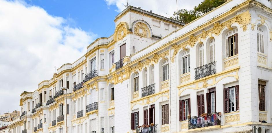 L'architecture de Tanger exposée