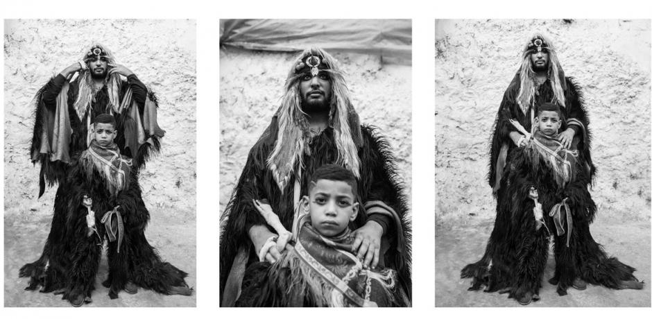 les Boujlouds en Noir et Blanc de Seif Kousmate