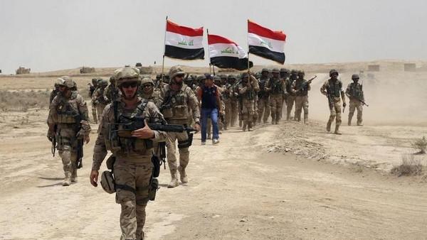 الجيش العراقي يدخل الرمادي