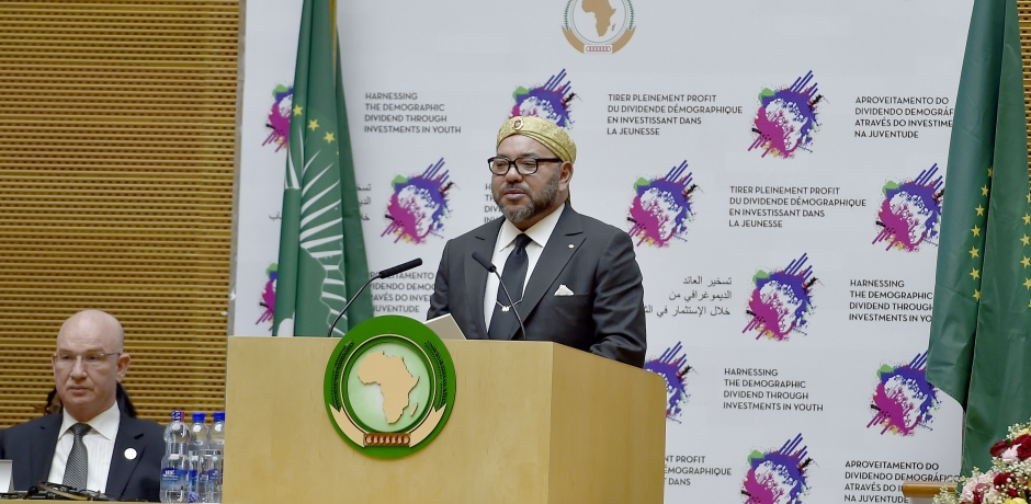 خطاب العاهل المغربي في القمة 28 للاتحاد الإفريقي