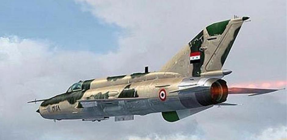 سلاح الجو العراقي يقصفُ للمرة الأولى مواقع لداعش داخل سوريا