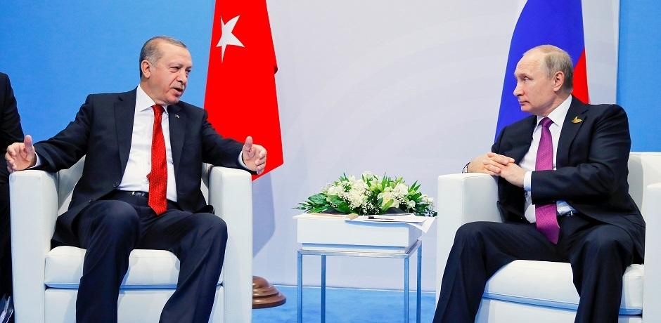 اردوغان يستقبل بوتين لمناقشة الوضع في سوريا والعراق وعقد للتسلح