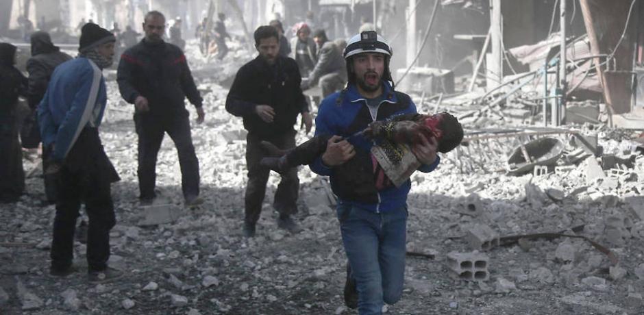 سوريا : الغوطة الشرقية تحت النار و الحصار