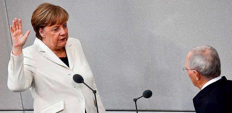 ألمانيا: أنغيلا ميركل تؤدي اليمين  الدستورية كمستشارة لولاية رابعة