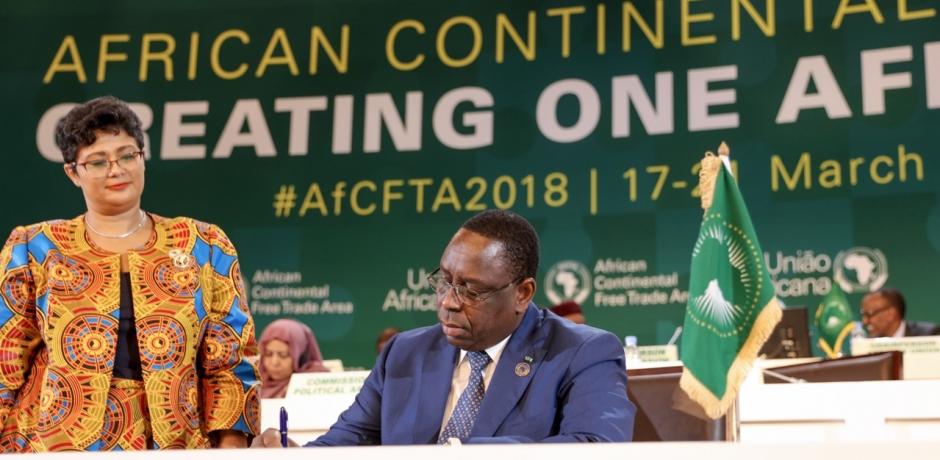 أكثر من 40 دولة افريقية توقع اتفاقا لاقامة منطقة تبادل حر في القارة