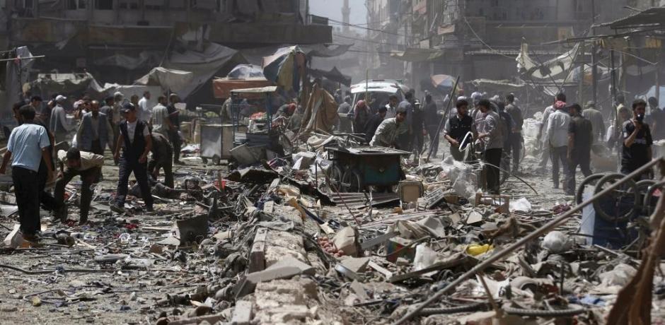 ما هي مؤشرات توجيه ضربة غربية ضد النظام السوري ؟