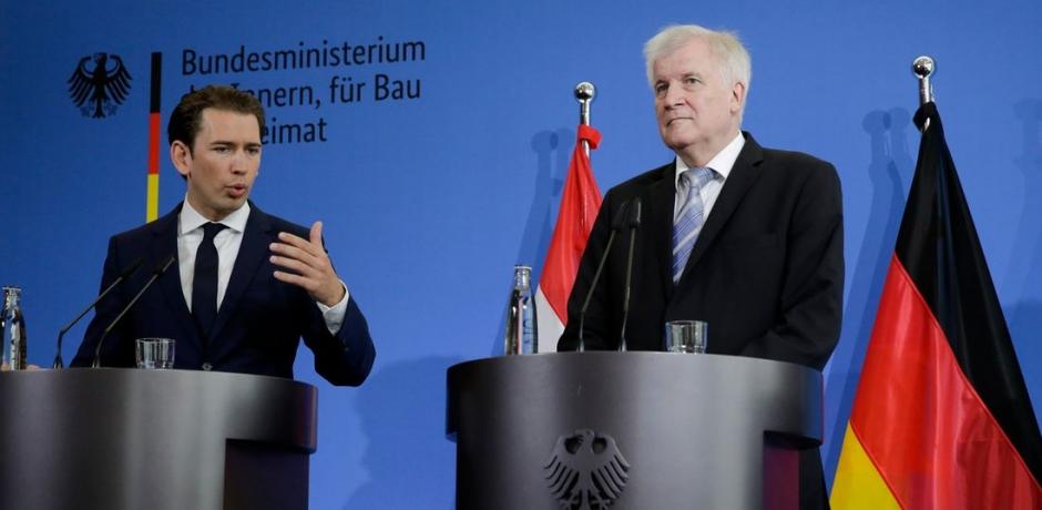 ألمانيا و النمسا و إيطاليا تشكل محورا لمكافحة الهجرة غير الشرعية