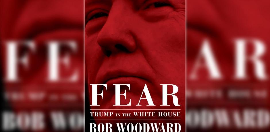"""كتاب """"الخوف"""" يضع ترامب بمواجهة بطل فضيحة ووترغيت"""