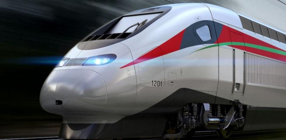"""المغرب : العاهل المغربي و الرئيس الفرنسي يدشنان القطار فائق السرعة """"البراق"""" الرابط بين طنجة و الدار البيضاء"""