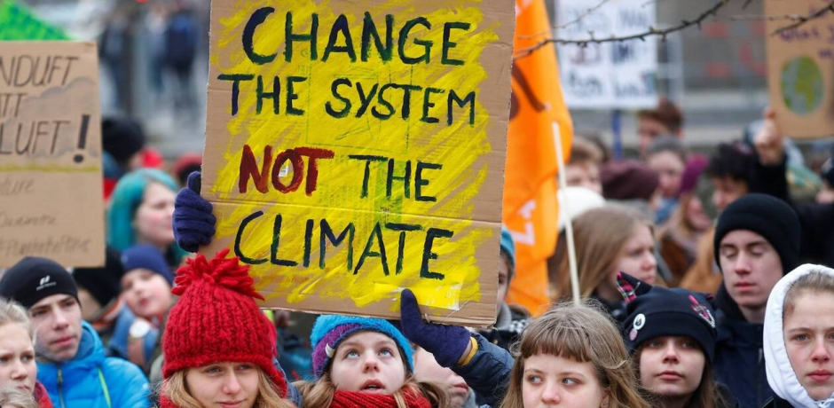 أي دور للشباب في مُكافحة أثار التغيرات المناخية ؟