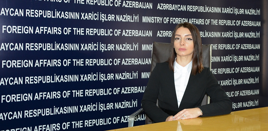 حصري لميدي1: المتحدثة باسم الخارجية الأذربدجانية توضح تطورات صراع ناغورني كاراباخ
