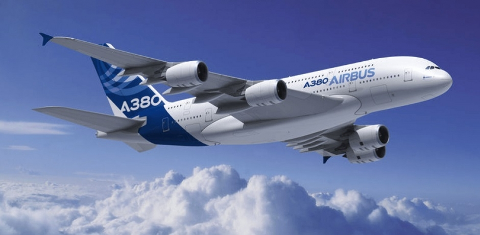 Le 18 janvier 2005, l'A380 fait son show