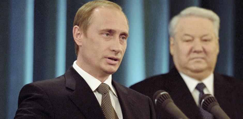 Vladimir Poutine devient président pour la première fois