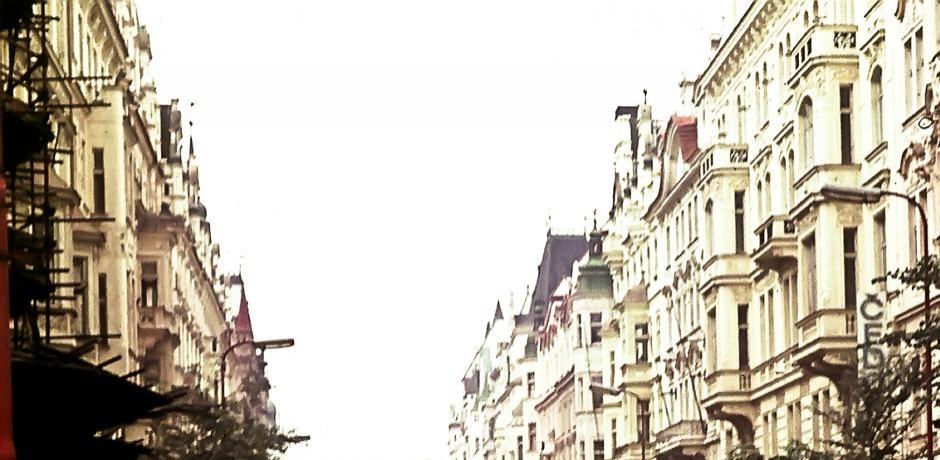 Les Chars Russes entrent dans Prague