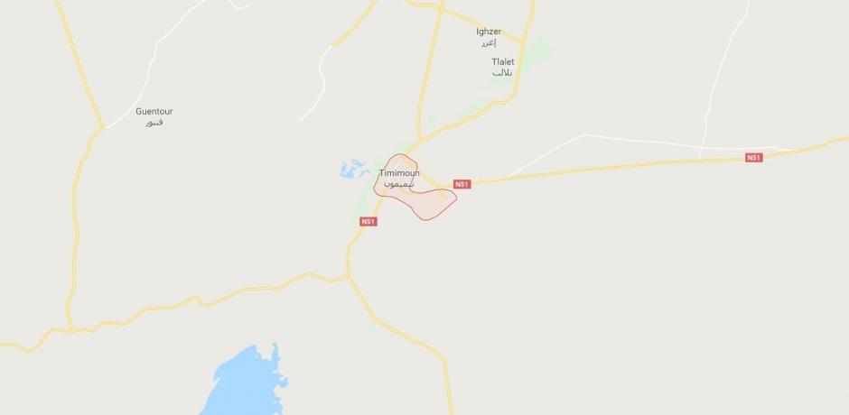 Nouveau champ gazier en Algérie