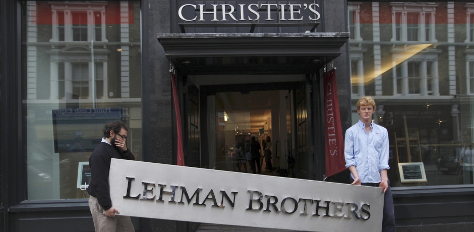 La chute de Lehman Brothers