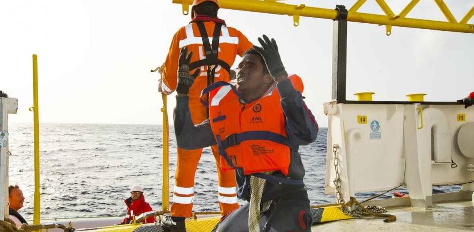 L'Aquarius, au secours des migrants