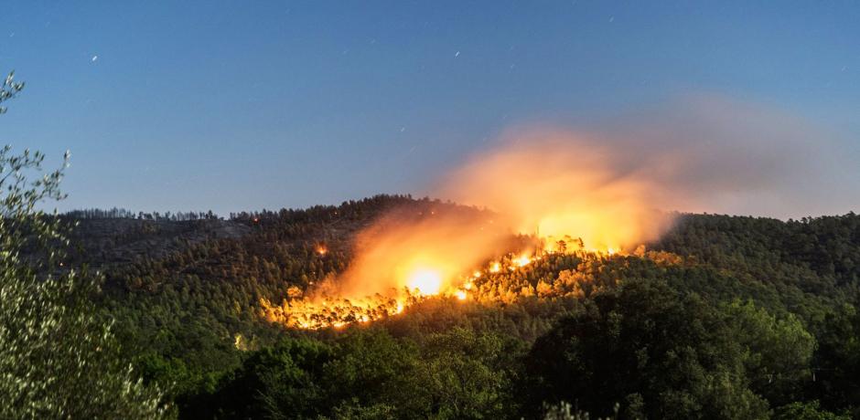 Été chaud : incendies, attention danger !