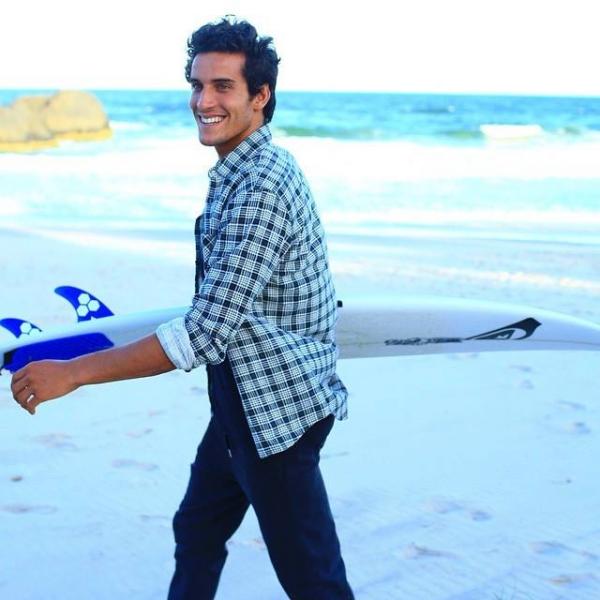 Ramzi Boukhiam sur la vague...