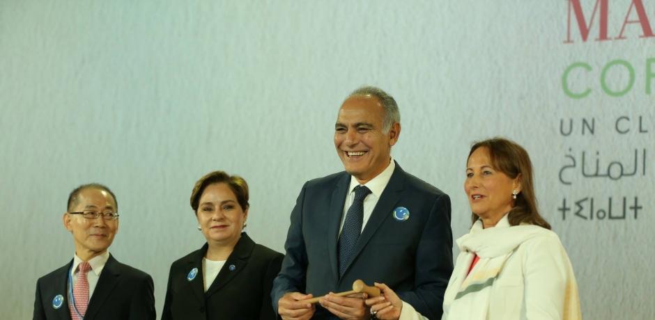 L'action, mot d'ordre de la COP22 à Marrakech