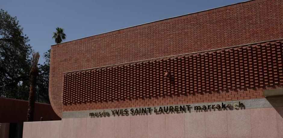 Visite du musée YSL de Marrakech