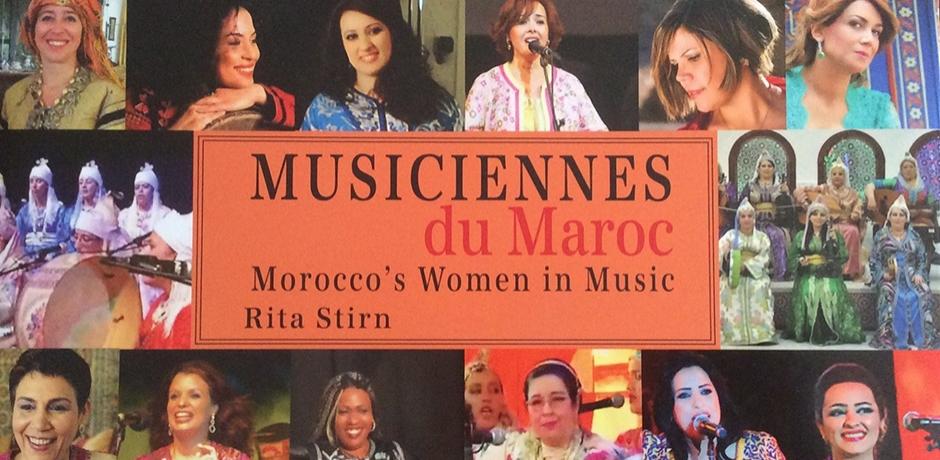 Beau livre , les musiciennes du Maroc à l'honneur!