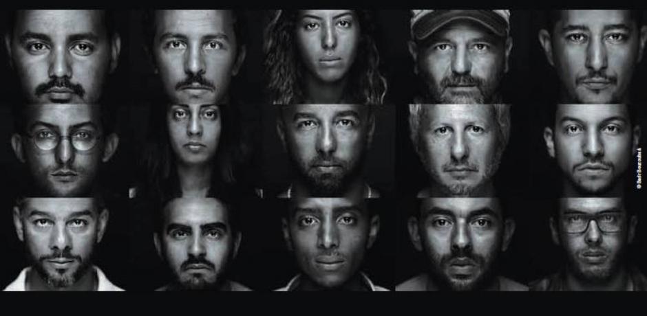 """""""Faces Project"""", l'expo de Badr Bouzoubaâ."""