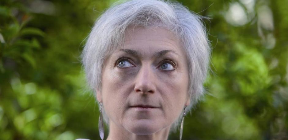 Sylvie Germain à Tanger.