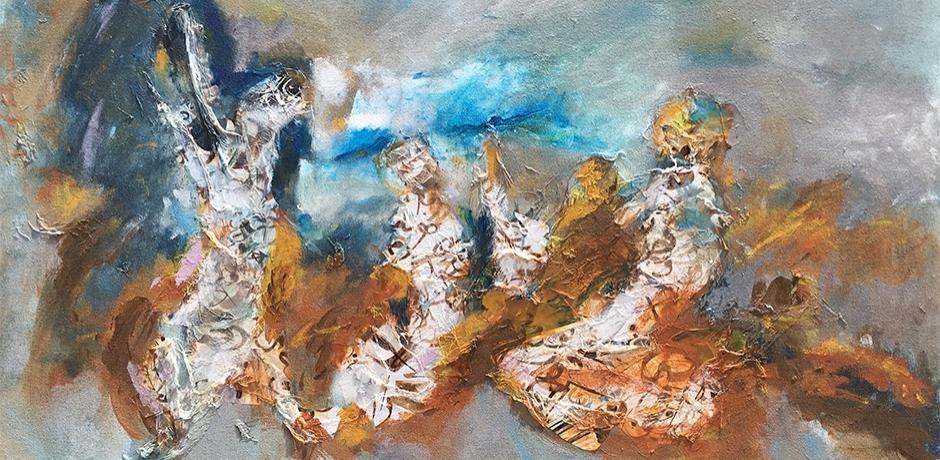 """Les """"Retrouvailles"""" de Mohammed Mekouar."""