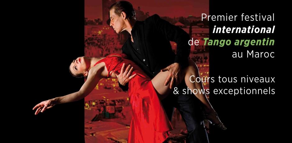 Le 1er Marrakech Tango Festival !