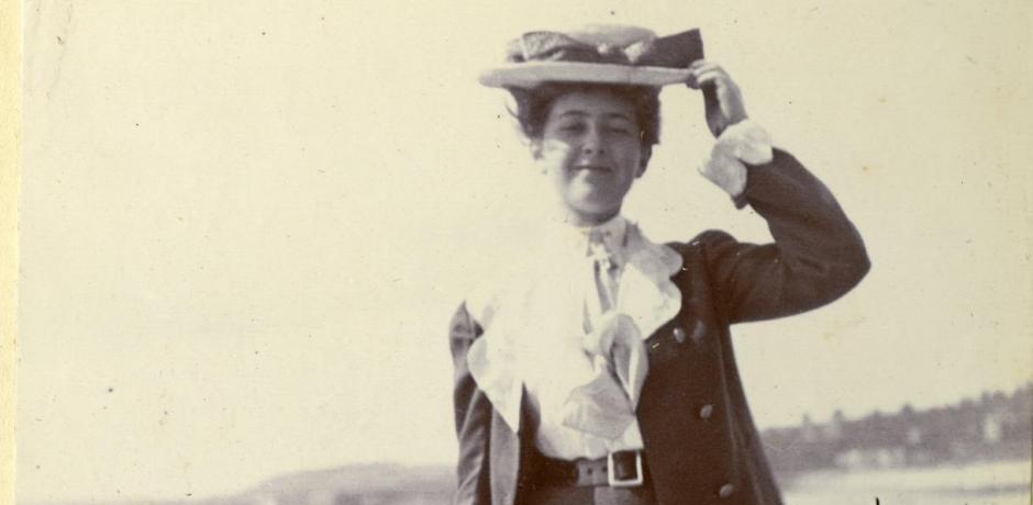 """Agatha Christie, """"La romancière et l'archéologue""""."""