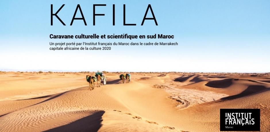Kafila, caravane culturelle et scientifique, du désert à la mer...
