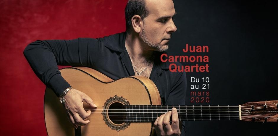 Juan Carmona Quartet bientôt au Maroc !