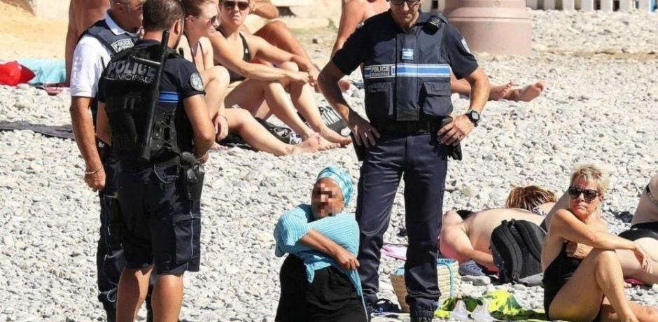 """""""البوركيني"""" قطعة قماش تهدد الأمن العام في فرنسا"""