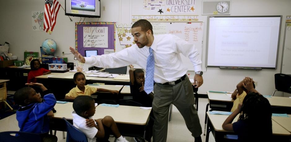 أن تكون معلما في أمريكا!