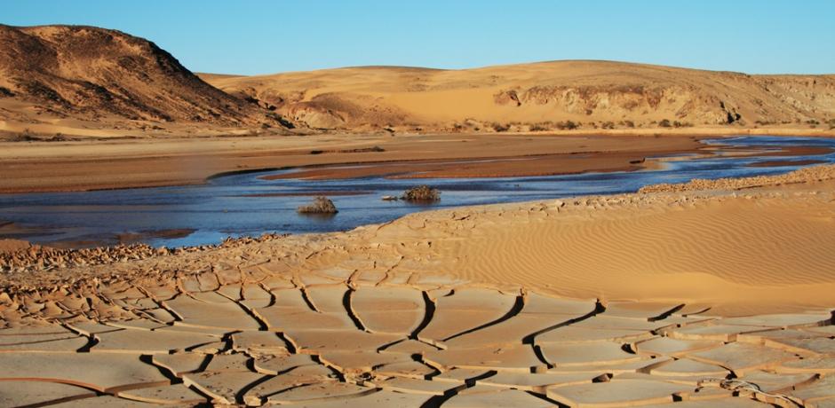 L'Algérie en stress hydrique.