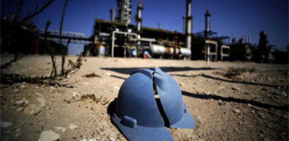 L'enjeu pétrolier en Libye.