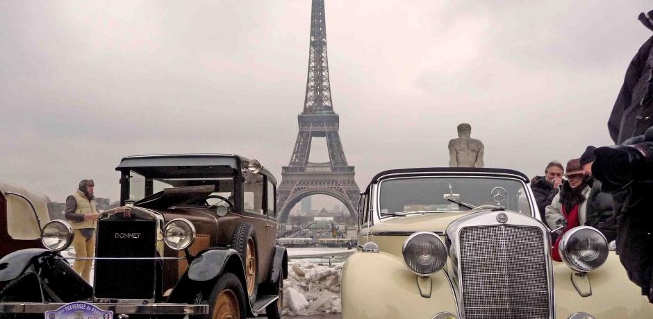 Voitures anciennes : Paris Nostalgie