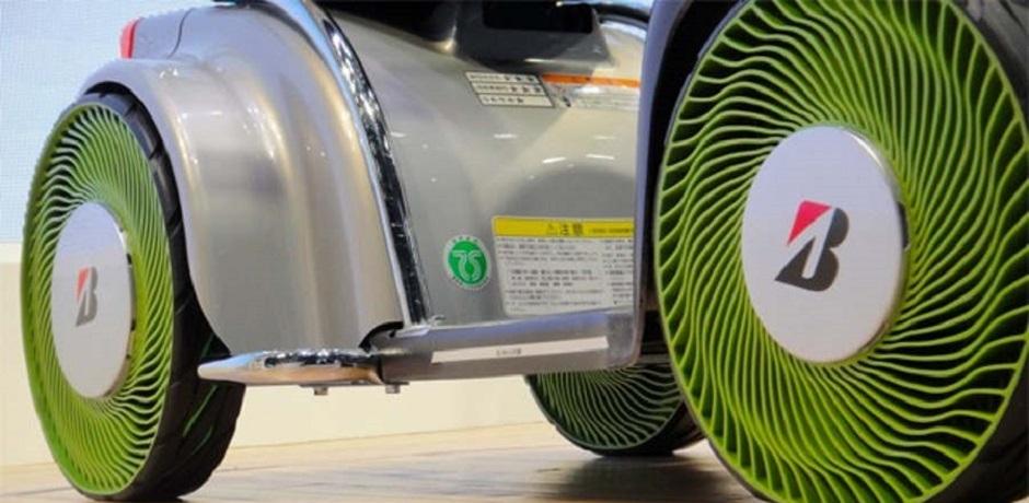 Bridgestone prépare le pneu du futur
