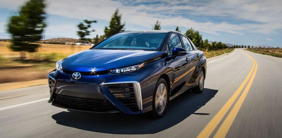 Test de la Mirai, la Toyota à hydrogène