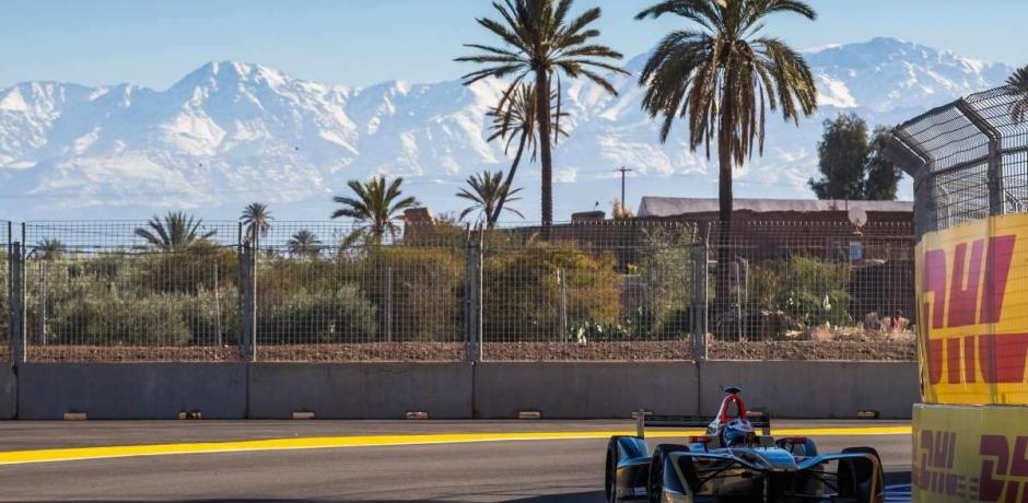 La Formule E se plait a Marrakech