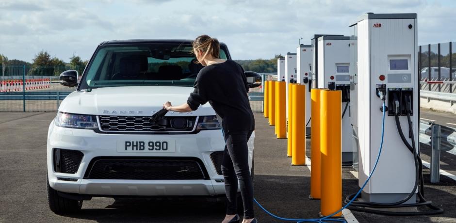 Test du Ranger Rover Sport Hybride