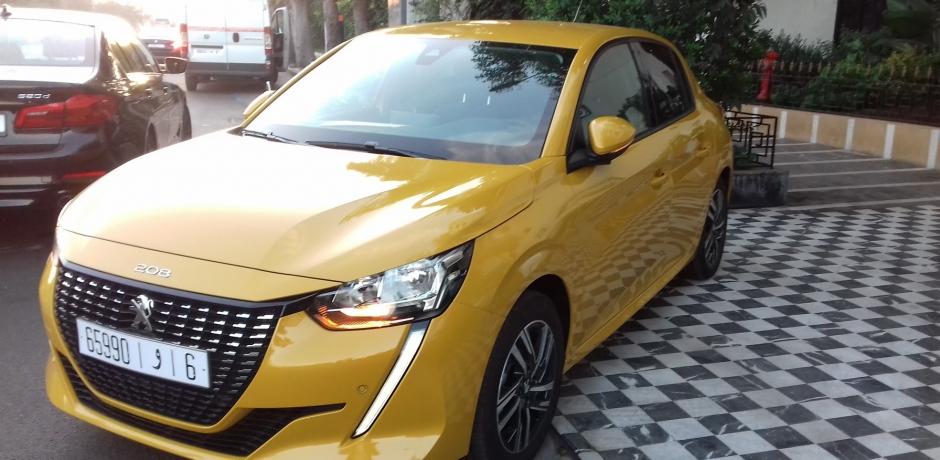 Test de la Peugeot 208, voiture de l'année au Maroc