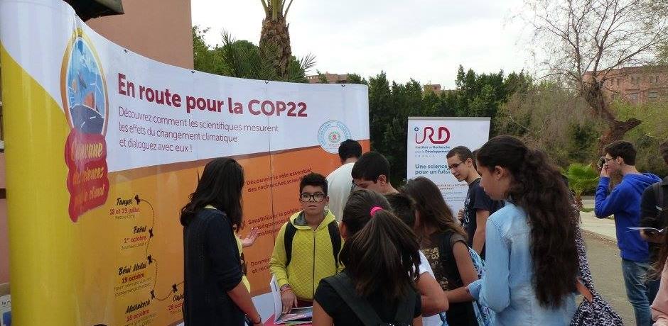 Changement climatique: l'IRD à la rencontre des élèves à Marrakech
