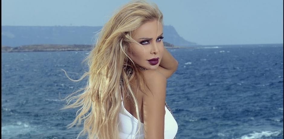 النجمة اللبنانية رولا سعد