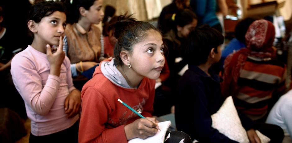 Du chemin de l'exode à celui de l'école en Grèce