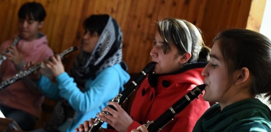 La musique au secours des enfants afghans